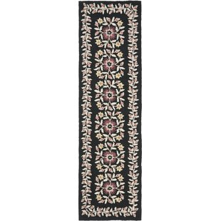 Best Reviews Folklore Hand-Loomed Black/Gray Area Rug By Martha Stewart Rugs