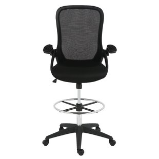 Best Reviews Labounty Mesh Drafting Chair by Symple Stuff