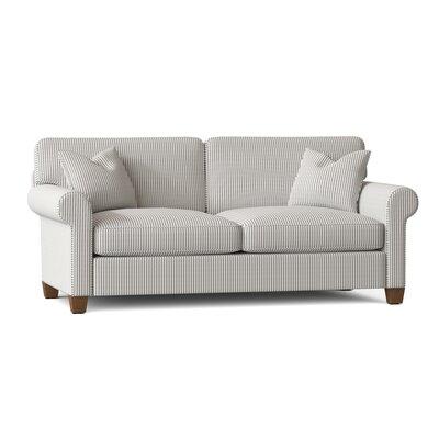 "Carey 88"""" Rolled Arm Sofa Bed Body Fabric: Cruise Adrift -  BirchLane, E7AE34A2DF494B96BA47A9E4FE8FAFF8"