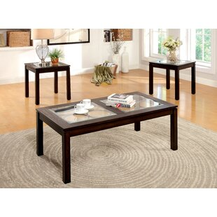 Alosio 3 Piece Coffee Table Set By Red Barrel Studio