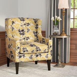 Beau Agnes Wingback Chair