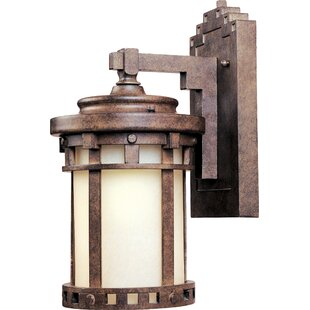 Pacific Grove 1-Light Outdoor Wall Lantern By Loon Peak Outdoor Lighting