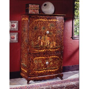 Reiter Hand-Painted TV Armoire by Bloomsbury Market
