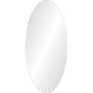 Wrought Studio Curry Oval Unframed Wall Mirror