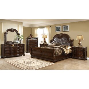 Taja King Sleigh 4 Piece Bedroom Set By Astoria Grand