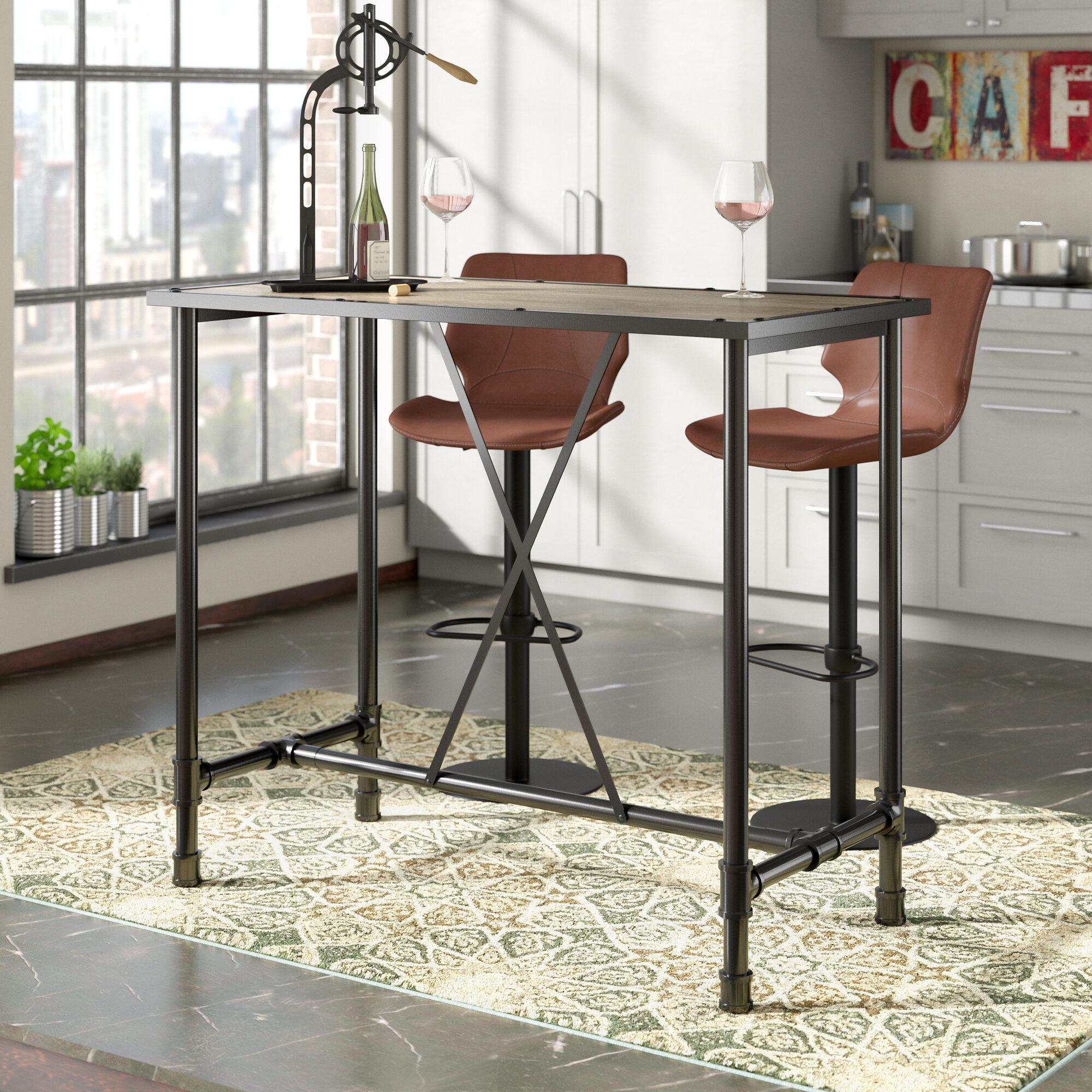 trent austin design melody bar table reviews wayfair