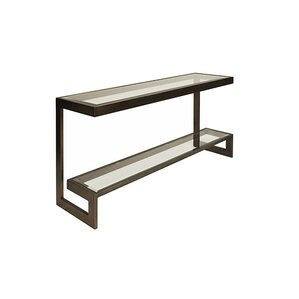 2 Tier Low Console Table by Worlds Away
