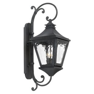 Reviews Rebecca 2-Light Outdoor Wall Lantern By Fleur De Lis Living