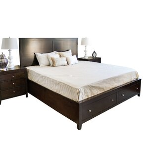 Oneill Storage Panel 3 Piece Bedroom Set by Three Posts