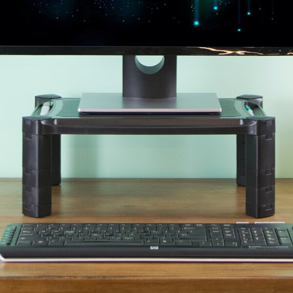 Labelled Photo Of A Computer Showing The Monitor Stood On The Computer