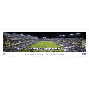 NCAA Texas Christian University - End Zone by Christopher Gjevre Photographic Print by Blakeway Worldwide Panoramas, Inc
