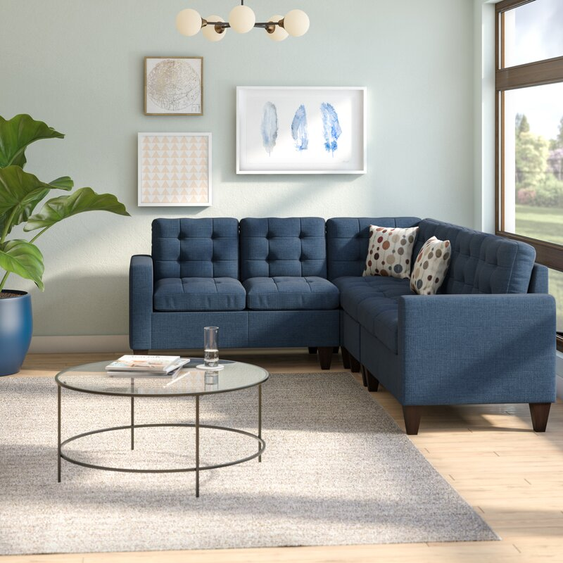 Sectional Couch In Toronto: Latitude Run Prescot Sectional & Reviews