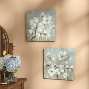 'Sweetbay Magnolia' 2 Piece Set by Charlton Home