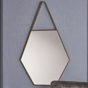 George Oliver Diggins Hexagonal Accent Mirror