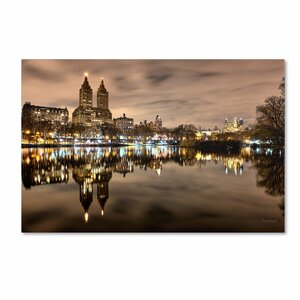 Central Park West I by David Ayash Photographic Print on Wrapped Canvas by Trademark Fine Art