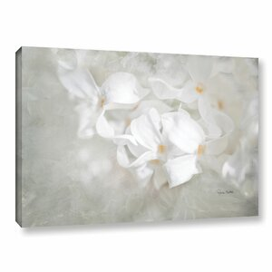 White Lilac I Painting Print on Gallery Wrapped Canvas by Alcott Hill