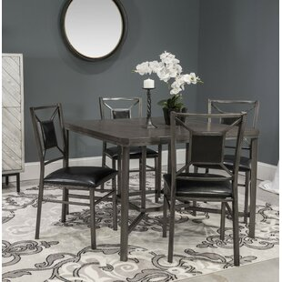 Veronika 5 Piece Dining Set By Red Barrel Studio