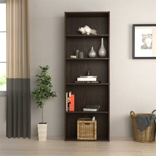 Reviews Rosemary Standard Bookcase By Ebern Designs
