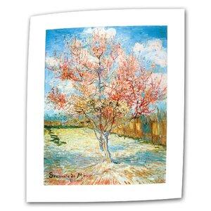 The Flowering Peach Tree by Vincent van Gogh Paint