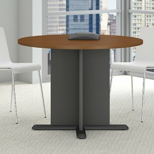 Price comparison Circular 29.8H x 41.38W x 41.38L Conference Table By Bush Business Furniture