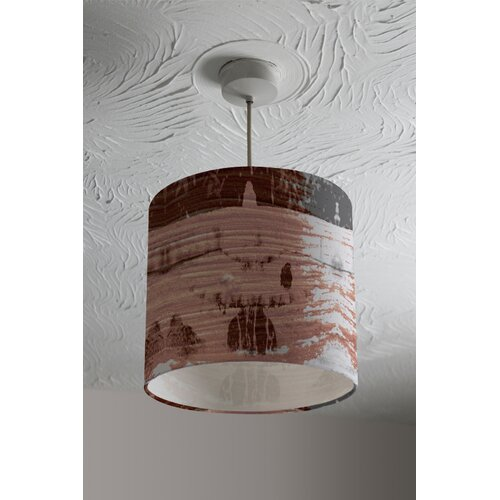 Bird Bath Cotton Drum Lamp Shade Ebern Designs