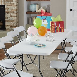 Shop For Deluxe 96 Rectangular Folding Table ByCosco Home and Office