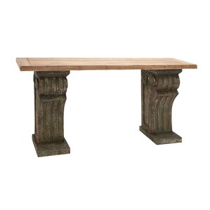 Rustic Wood Console Table ..