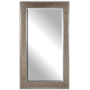 One Allium Way Rectangle Burnished Gold Wall Mirror