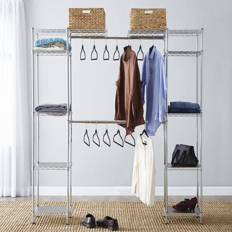 Wayfair Basics Wayfair Basics 58 W 83 W Closet System Reviews