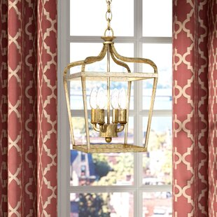 Fealty 4-Light Foyer Pendant by Willa Arlo Interiors