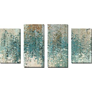 Perfect Love by Mark Lawrence 4 Piece Painting Print on Wrapped Canvas Set by Picture Perfect International