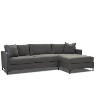 Dawson Sectional by Wayfair Custom Upholstery™