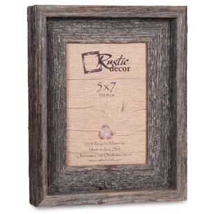 Waldrop Barn Wood Reclaimed Signature Picture Frame