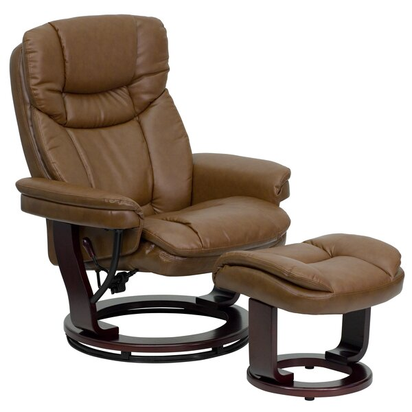 Winnols Manual Swivel Recliner with Ottoman  sc 1 st  Wayfair : recliner and swivel chairs - islam-shia.org
