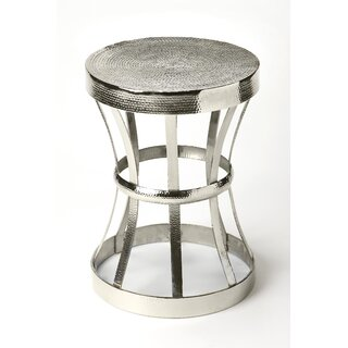 Wehrle Industrial Chic End Table by Latitude Run SKU:DB216871 Description