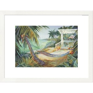'Coastal Lazy Daze II' by Kathleen Denis Framed Graphic Art by Global Gallery