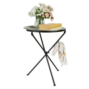 Modern Tunisian Detachable Tray Table by Mind Reader