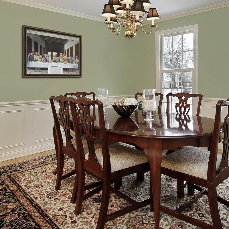 Tori Home The Last Supper By Leonardo Da Vinci Framed Painting Print Wayfair