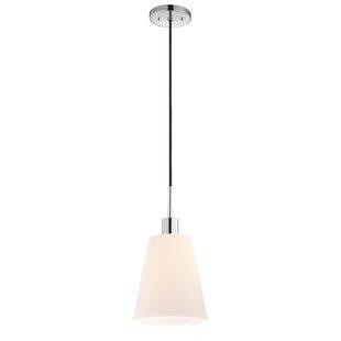 Milk glass pendant light wayfair save mozeypictures Choice Image