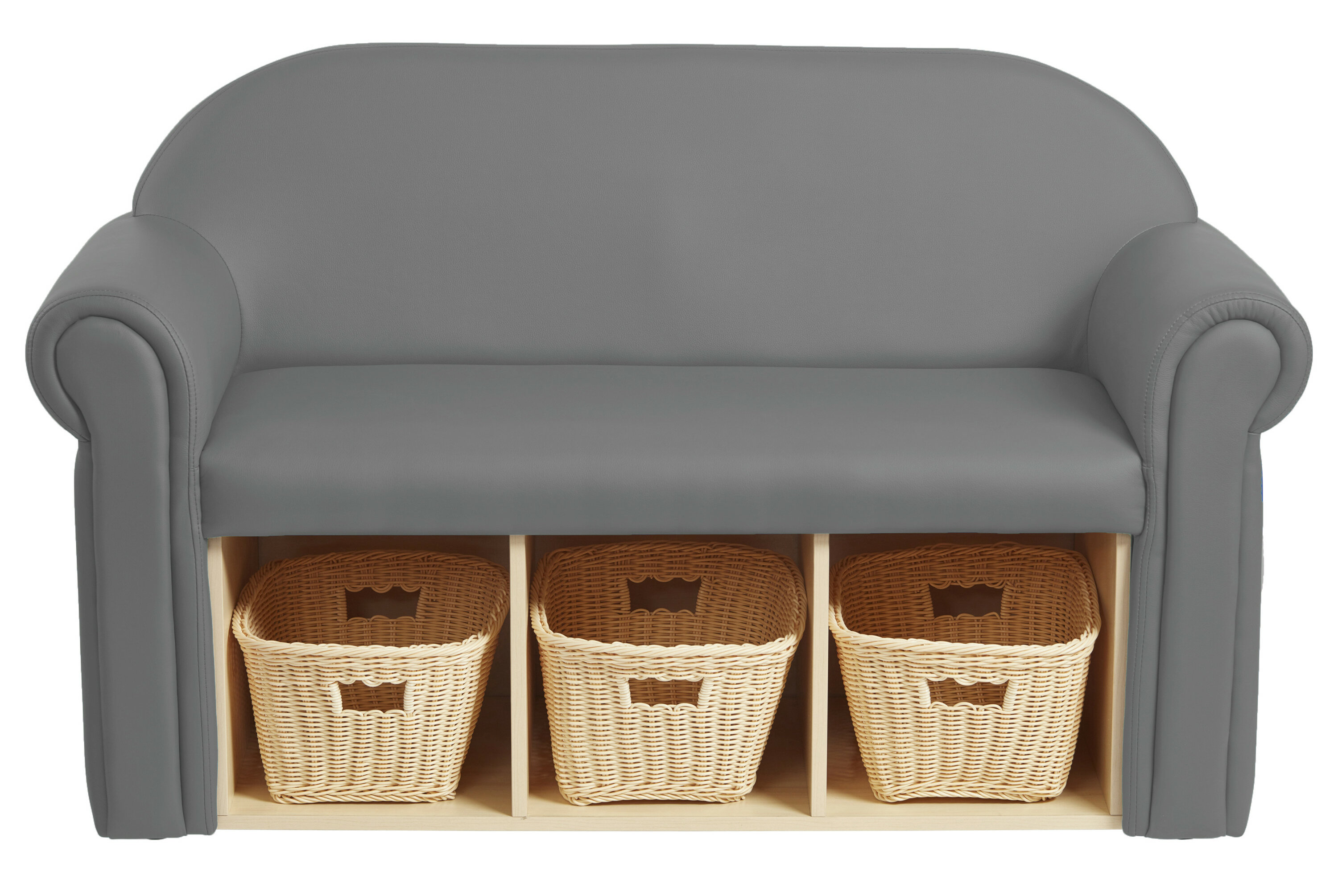 Little Lux Youth Kids Sofa With Storage