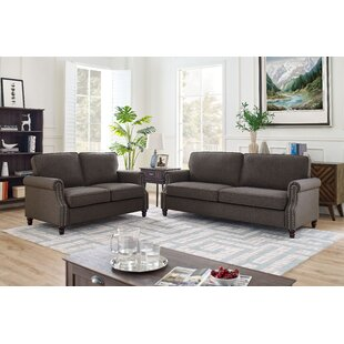 Bartell 2 Piece Standard Living Room Set by Alcott Hill®