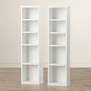 Elma Multimedia Storage Standard Bookcase (Set of 2)