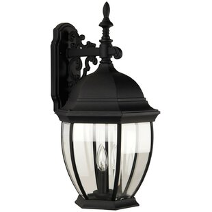 Find for Oakhill 3-Light Outdoor Wall lantern By Charlton Home