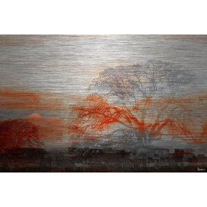'Casa Vista' by Parvez Taj Painting Print on Brushed Aluminum by Parvez Taj
