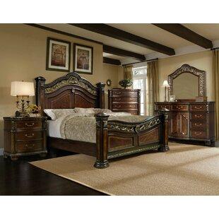 Storrs Panel 4 Piece Bedroom Set