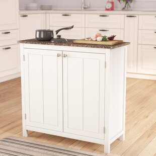 Kitchen Island With Trash Bin Wayfair