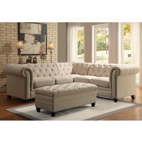 Remarkable 1488 99 Willa Arlo Interiors Buchanan Sectional Sofa Inzonedesignstudio Interior Chair Design Inzonedesignstudiocom