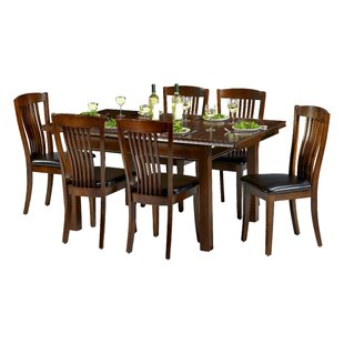 Remsen Extendable Dining Set With 6 Chairs
