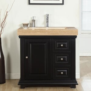 Open Back Vanity | Wayfair
