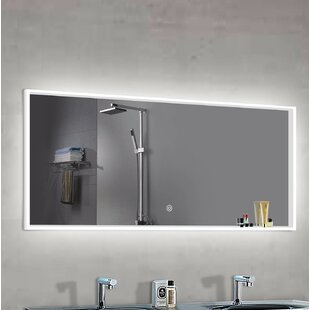 Online Reviews Alfson LED Bathroom/Vanity Mirror By Orren Ellis